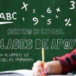 Clases de apoyo gratuitas en el Centro Cultural «Sixto Palavecino»