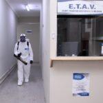 Desinfección integral en espacios físicos del Poder judicial