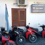 Un detenido y 4 motos recuperadas fue el saldo de una pesquisa en tres ciudades